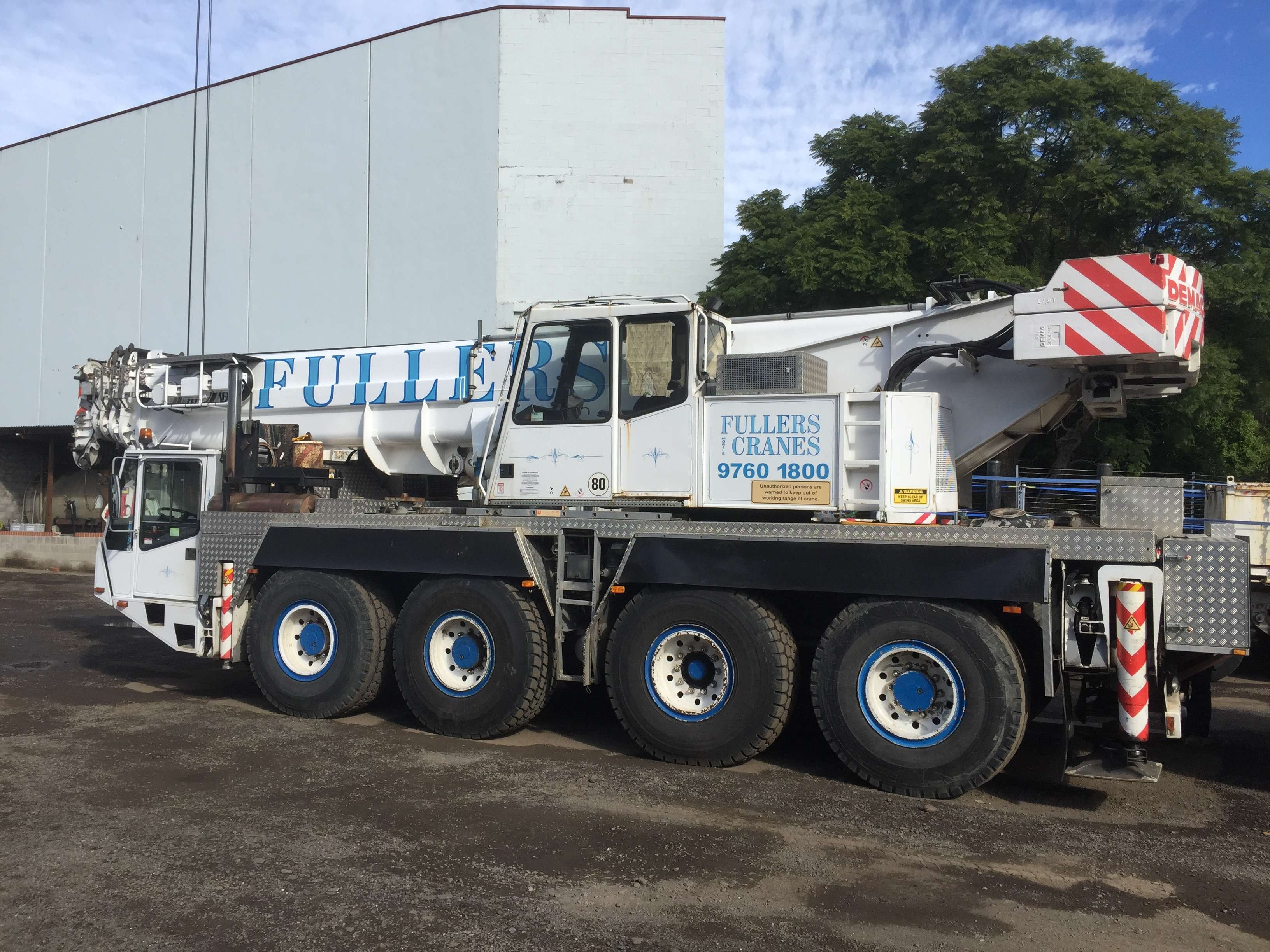 80T-All-Terrain | Fullers Mobile Cranes