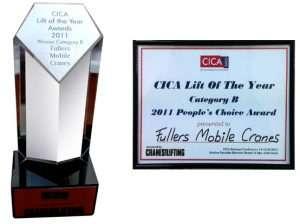 awards   Fullers Mobile Cranes